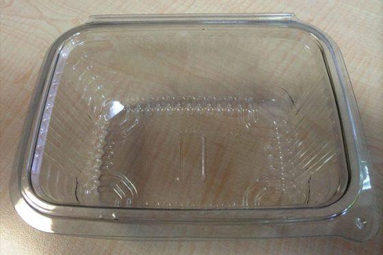 boîte à friandises en plastique jetable