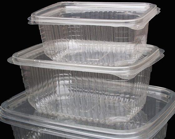 boîte à fruits secs plastique jetable