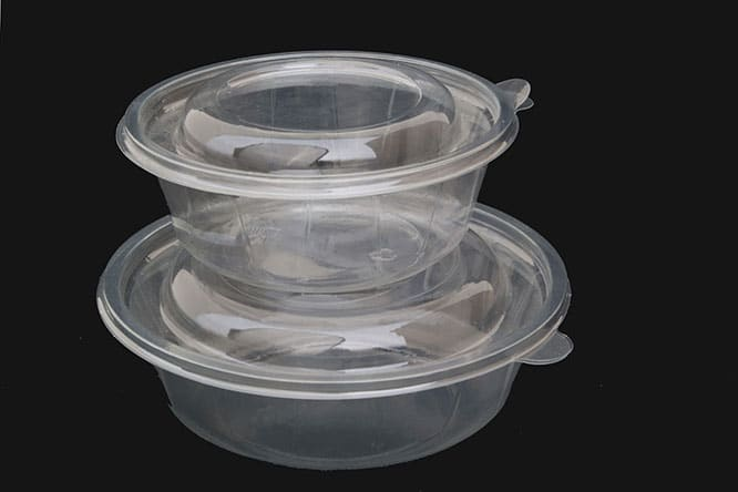 boîte à fruit plastique jetable