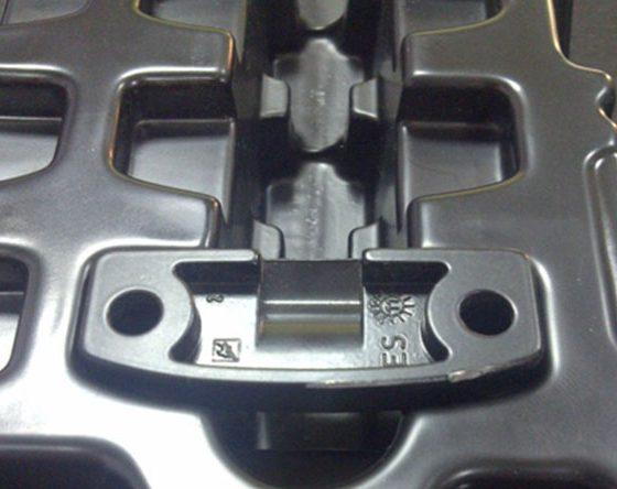 plateau à pièces fragiles d'automobile