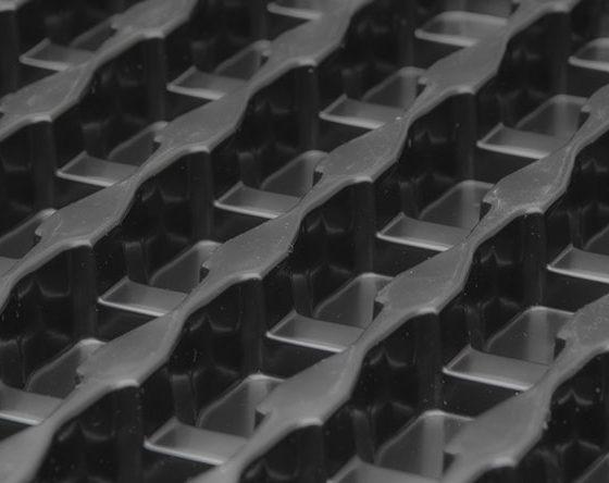 barquette transport pièces injection plastique