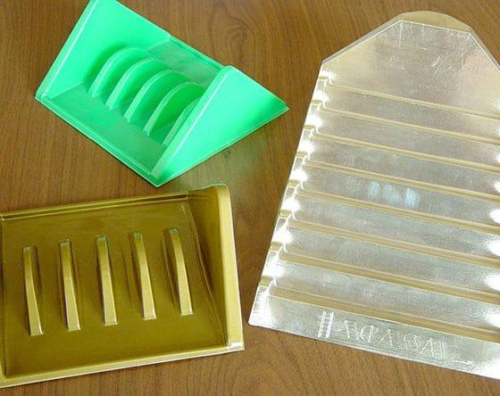 présentoir thermoformé à aromathérapie