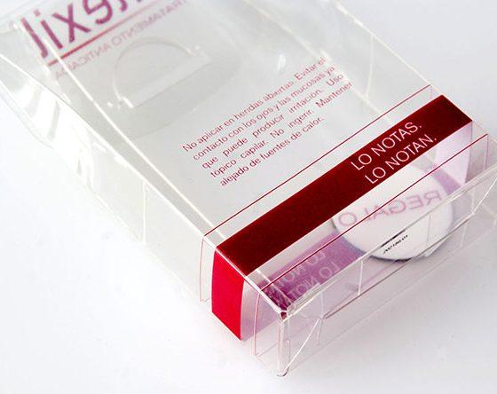 packaging thermoformé à crèmes