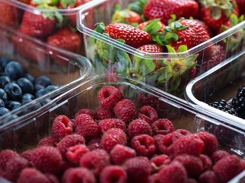 Emballages pour fruits et legumes